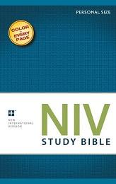 NIV Study Bible (Personal Size)
