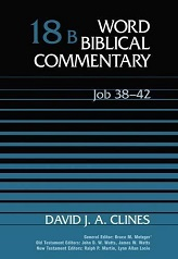 Job 38-42 (Word Biblical Commentary 18B) [Hardcover]