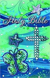 ICB Sequin Bible, Teal