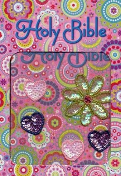 ICB Shiny Sequin Bible, Pink