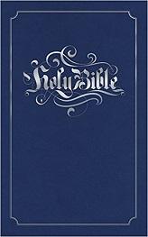 Holy Bible Imitation Leather Blue (Bible Kjv)