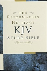 Reformation Heritage KJV Study Bible, The