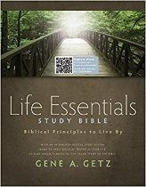 Life Essentials Study Bible, Hardcover