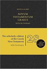 Novum Testamentum Graece NA28: Nestle-Aland 28th edition with Dictionary