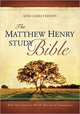 Matthew Henry Study Bible: With Notes from the World's Best-Loved Commentary, The