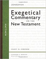 Matthew (Zondervan Exegetical Commentary on the New Testament)