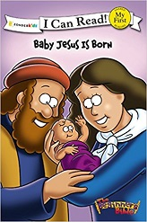 I CAN READ : BABY JESUS BORN