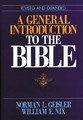 GENERAL INTRODUCTION TO THE BIBLE, A, REVISED AND EXPANDED