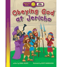 Obeying God at Jericho (Happy Day Books: Bible Stories)
