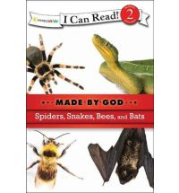 Spiders, Snakes, Bees, and Bats (I Can Read!-level 2 / Made By God)